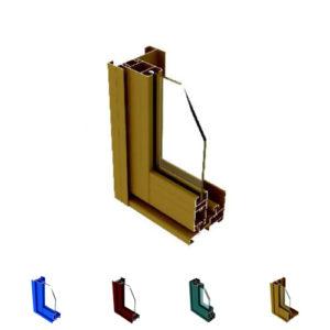 Aluminum Sliding Door Section