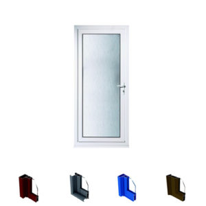 Aluminum Casement Door System