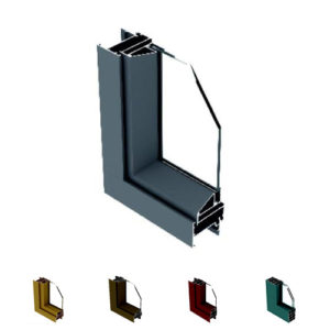 Aluminium Casement Window Section