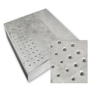 Drilling aluminium